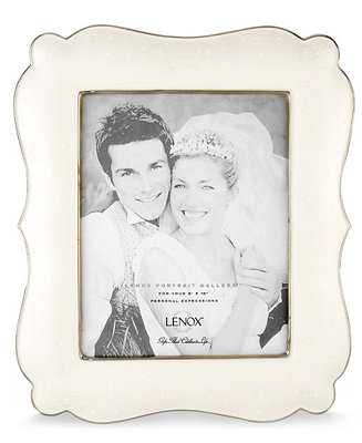 Lenox Quot Opal Innocence Quot 8 X 10 Picture Frame Picture
