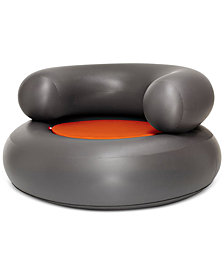 Fatboy Air Chair Anthracite with Pillow, Quick Ship