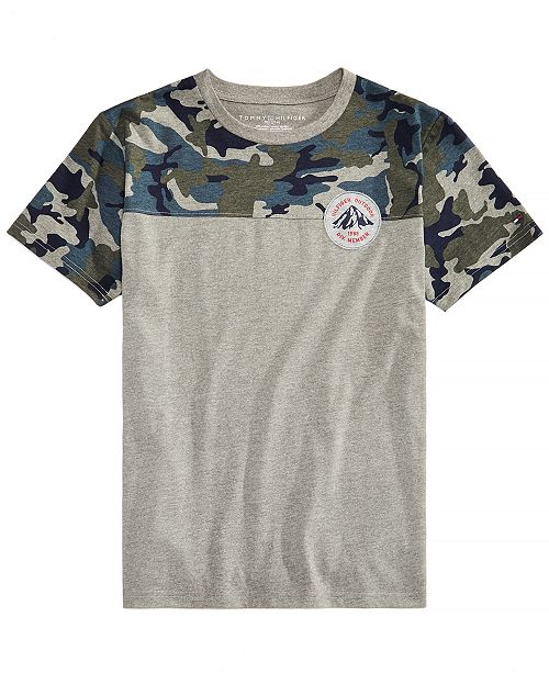 d1b6548e Tommy Hilfiger Toddler Boys Camo-Print T-Shirt & Reviews - Shirts ...