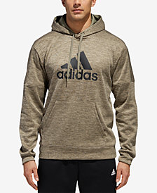 adidas Men's Team Issue Heathered Fleece Hoodie