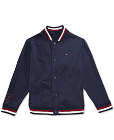 Tommy Hilfiger Little Boys Mesh Baseball Jacket