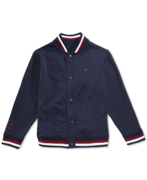 Tommy Hilfiger Toddler Boys Mesh Baseball Jacket