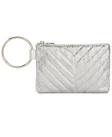 I.N.C. Luhli Mesh Ring Clutch, Created for Macy's