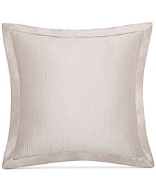 Avalon Quilted Faux-Silk European Sham