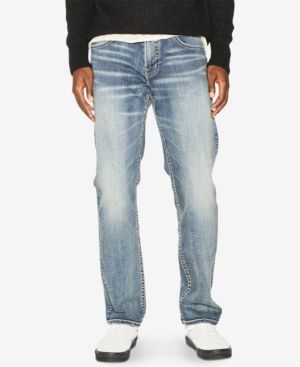 Silver Jeans Co. Men's Eddie Relaxed Tapered Jeans 6332419