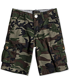 Quiksilver Toddler Boys Camo-Print Cotton Shorts