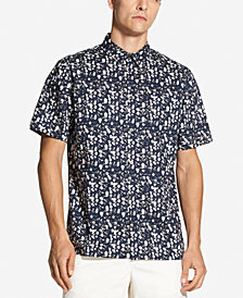 DKNY Jeans Men's Floral-Print Shirt, Created for Macy's