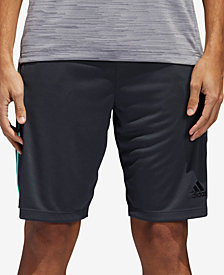 "adidas Men's Design 2 Move 3 Stripe 10"" Shorts"