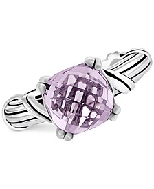 Lavender Amethyst Ring (4 ct. t.w.) in Sterling Silver