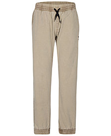 Hurley Big Boys Saltwater Cotton Jogger Pants
