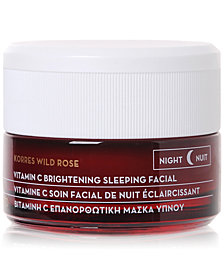Korres Wild Rose Vitamin C Brightening Sleeping Facial, 40 ml