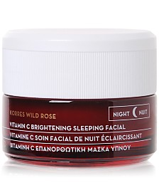 KORRES Wild Rose Vitamin C Brightening Sleeping Facial, 1.4 oz.