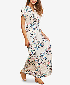 Motherhood Maternity Nursing Maxi Dress