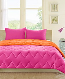 Trixie Reversible 3-Pc. Comforter Sets