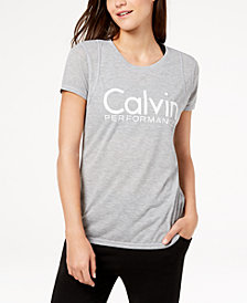 Calvin Klein Performance Metallic-Logo T-Shirt