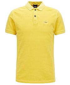 BOSS Men's Slim-Fit Cotton Piqué Polo Shirt