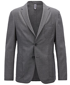 BOSS Men's Slim-Fit Virgin Wool Blazer