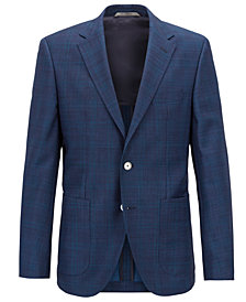 BOSS Men's Regular/Classic-Fit Virgin Wool Blazer
