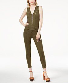 GUESS Cara Zippered Jumpsuit