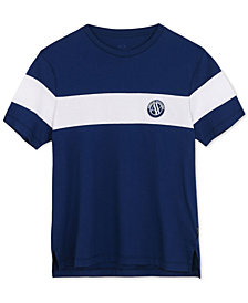 A|X Armani Exchange Men's Single Stripe T-Shirt