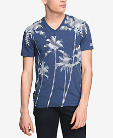 A|X Armani Exchange Men's Palm Tree T-Shirt