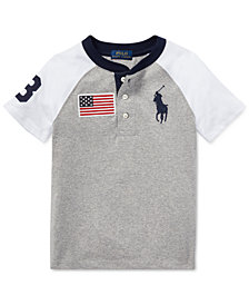 Polo Ralph Lauren Toddler Boys Cotton Jersey Henley Shirt