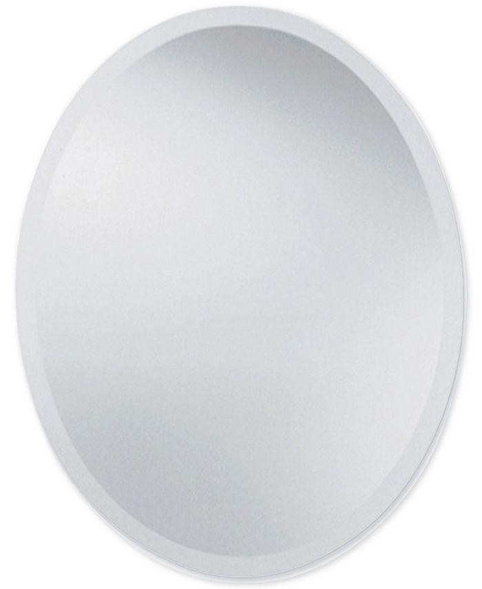 Uttermost - Frameless Large Oval Mirror