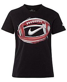 Nike Toddler Boys Football-Print Cotton T-Shirt