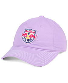 adidas New York Red Bulls Pink Slouch Cap