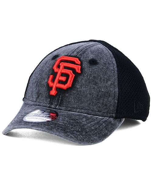 competitive price 0a92f d689f New Era Boys  San Francisco Giants Jr Hooge Neo 39THIRTY Cap ...