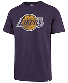 '47 Brand Men's Los Angeles Lakers Grit Scrum T-Shirt