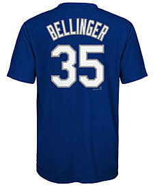 Majestic Cody Bellinger Los Angeles Dodgers Poly Player T-Shirt, Big Boys (8-20)