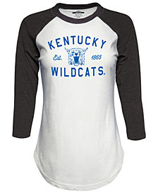 J America Women s Kentucky Wildcats Tri-Blend Raglan T-Shirt f5f570457