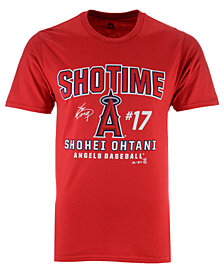 Majestic Men's Shohei Ohtani Los Angeles Angels Ohtani Showtime T-Shirt