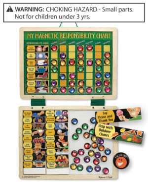 Melissa and Doug Kids Toys Kids Responsibility Chart Set