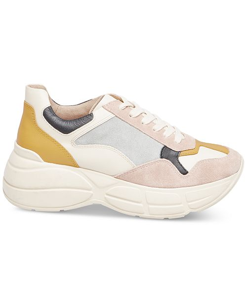 050b74966a6 Steve Madden Women s Memory Chunky Sneakers   Reviews - Athletic ...
