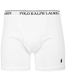 Polo Ralph Lauren Men's Big & Tall 2-Pk. Cotton Boxer Briefs