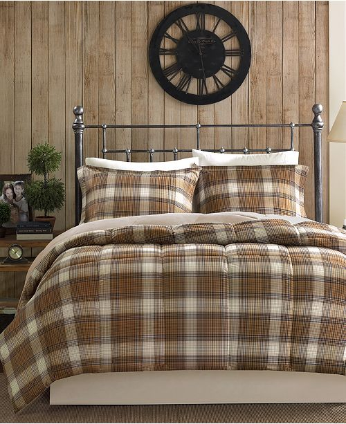 80936746fa Woolrich Lumberjack 3-Pc. Comforter Sets & Reviews - Bed in a Bag ...