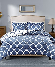Peyton Reversible 3-Pc. Full/Queen Comforter Set