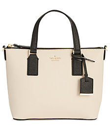 Kate Spade New York Lucie Small Saffiano Leather Crossbody