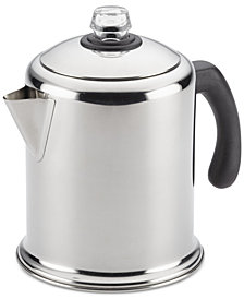 Farberware Yosemite Classic Stainless Steel 12-Cup Coffee Percolator