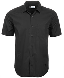 LRG Men's Higher Elevation Embroidered Pocket Shirt