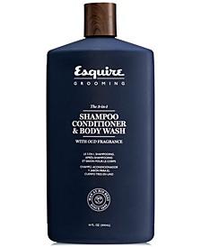 The 3-In-1 Shampoo, Conditioner & Body Wash, 14-oz.