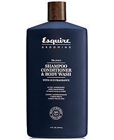 Esquire Grooming The 3-In-1 Shampoo, Conditioner & Body Wash, 14-oz.