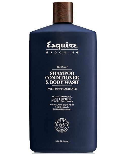 e44be4ef1986 Esquire Grooming The 3-In-1 Shampoo, Conditioner & Body Wash, 14-oz ...