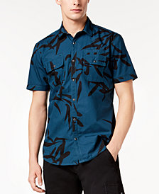 I.N.C. Men's Geometric Print Shirt, Created for Macy's