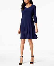 Anne Klein A-Line Shirtdress