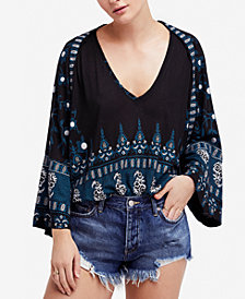 Free People Printed Top