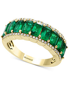 Brasilica by EFFY® Emerald (2-3/8 ct. t.w.) & Diamond (1/6 ct. t.w.) Ring in 14k Gold