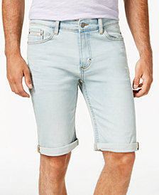 "Calvin Klein Jeans Men's Icy Blue Denim 11"" Shorts"